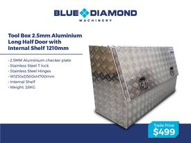 Aluminium 2.5mm Tool Boxes � 1210mm - 1770mm  - picture4' - Click to enlarge