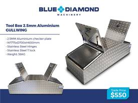 Aluminium 2.5mm Tool Boxes � 1210mm - 1770mm  - picture5' - Click to enlarge