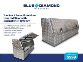 Aluminium 2.5mm Tool Boxes � 1210mm - 1770mm  - picture6' - Click to enlarge
