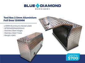Aluminium 2.5mm Tool Boxes � 1210mm - 1770mm  - picture8' - Click to enlarge