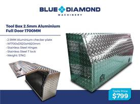 Aluminium 2.5mm Tool Boxes � 1210mm - 1770mm  - picture9' - Click to enlarge