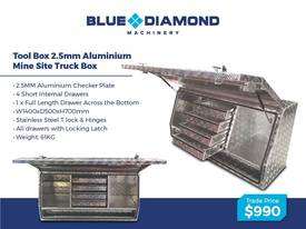 Aluminium 2.5mm Tool Boxes � 1210mm - 1770mm  - picture10' - Click to enlarge