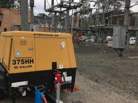 Sullair 375HH after-cooled 200 PSI diesel tow-able compressors   - picture0' - Click to enlarge