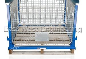 East West Engineering Mesh Cage with Pallet SMT03
