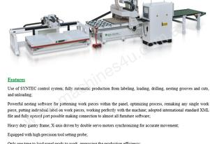 NANXING Auto Pre labeling Auto Load & Unload CNC  Machine 4000*2100mm  NCG4021L
