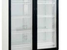 DFS1000 Double Glass Door Uprite Fridge 1000 Litre