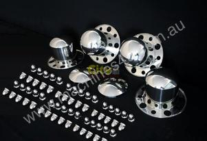 10 STUD STAINLESS STEEL DRESS RIM KITS