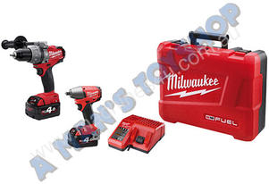 IMPACT WRENCH HAMMER DRILL 18V 2 X