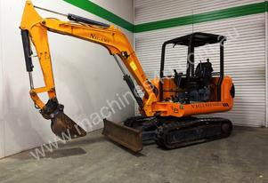 NAGANO NS35-3 LOW HOUR 3.5T MINI EXCAVATOR -314