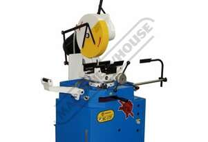 MC-370F CE Cold Saw, Includes Stand 100 x 100mm Rectangle Capacity Ø370mm Blade, Dual Speed 22 / 44