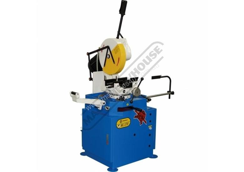 MC-370CE Soco Cold Saw, Includes Stand 100 x 100mm Rectangle Capacity Dual Speed 22 / 44rpm & Self