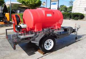 1100 L Fire Fighting Trailer 425L/Min with 30 m Ho