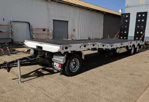 NEW 2020 FWR 3 Axle Dog Trailer - FD3