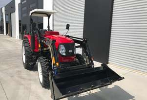 Brand New, 45HP Huaxia Tractor with bonus 4-in-1 front end loader!