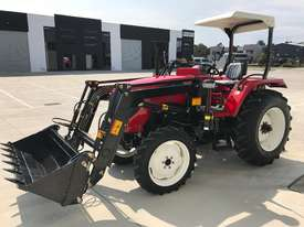Brand New, 45HP Huaxia Tractor with bonus 4-in-1 front end loader! - picture1' - Click to enlarge