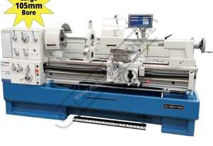 CL-560 Centre Lathe 560 x 1500mm Turning Capacity - 105mm Spindle Bore Includes Digital Readout, Qui