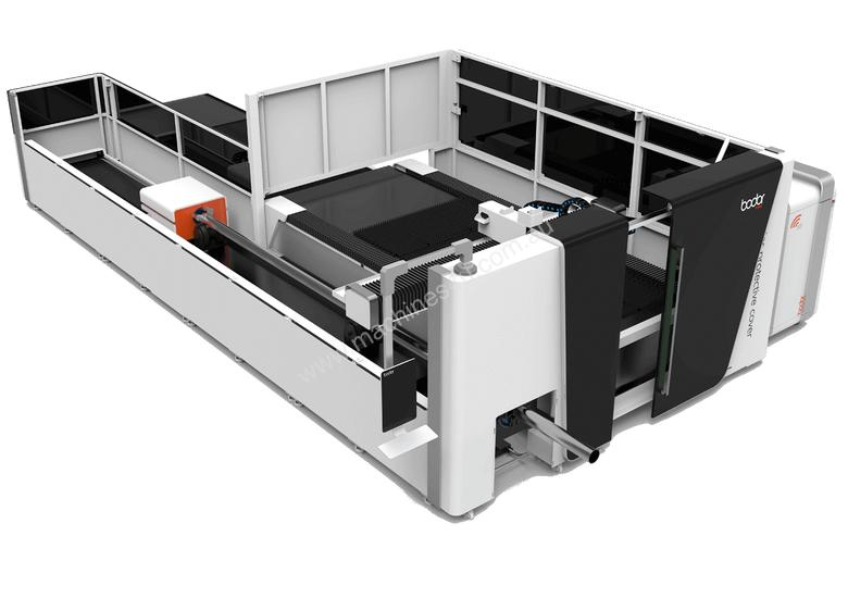 New 2019 Bodor 1 5kw Fiber Laser Sheet And Tube Cutting