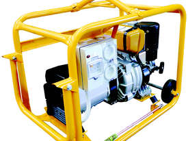 CROMMELINS Subaru DIESEL Genset with Hirepack - picture0' - Click to enlarge