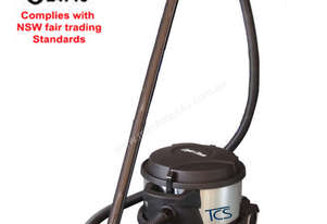 TCS Commercial 10L Dry Vacuum Cleaner with Ametek Motor (Black)