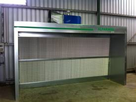 Alfarimini Open Dry spray booth 3m wide 1.5 deep AVALIABLE IN 4 AND 6 METRE - picture1' - Click to enlarge