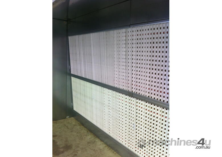 SPRAY PAINTING BOOTH ALFA 3A/ECO 3(L) X 1.5(D) X 3.3(H) FAN 3HP SUCTION 12000 MC/H ECO FRINDLY 3 DIF