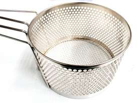 COMMERCIAL ROUND FRYING BASKETS - DIAMETER : 250MM - picture0' - Click to enlarge
