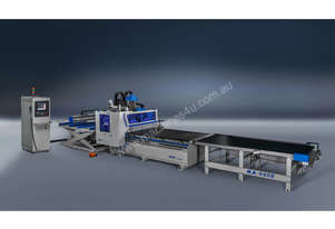 Flat Bed 4260 x 2150mm auto label, load, unload