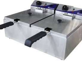 Royston Double Basket Fryer - 10 amp : FRY102-10 - picture1' - Click to enlarge