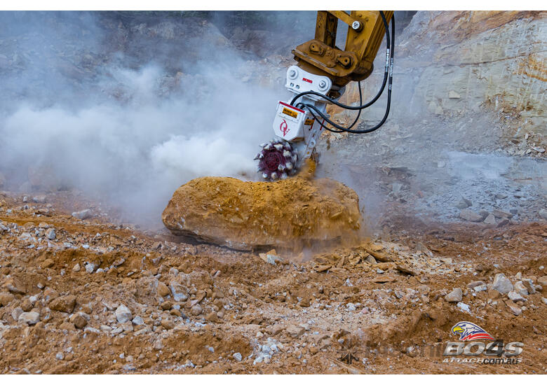 ANTRAQUIP Transverse Rock Grinders - Exclusive to Boss Attachments