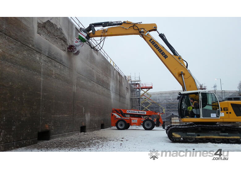 ANTRAQUIP Transverse Rock Grinders (Suitable for 12T+ Carriers) Exclusive to Boss Attachments
