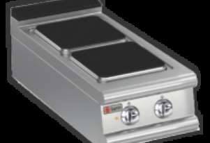 Baron 90PC/E401 Two Burner Bench Model Electric Cook Top