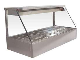 Woodson W.HFS22 Hot Food Bar - Straight Glass 705mm - picture1' - Click to enlarge