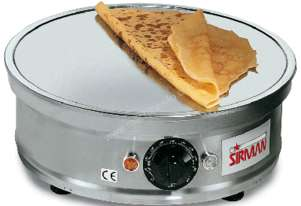 Sirman   Tonda Crepe Maker