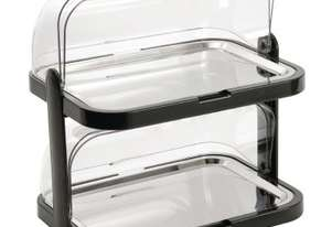 APS Double Stack Cooling Display Tray Roll Top 440x320x440mm (includes 4 coolers)