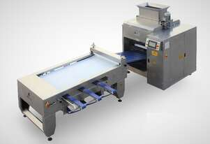 6 Lanes Dough Divider & Rounding Machine with Traying System