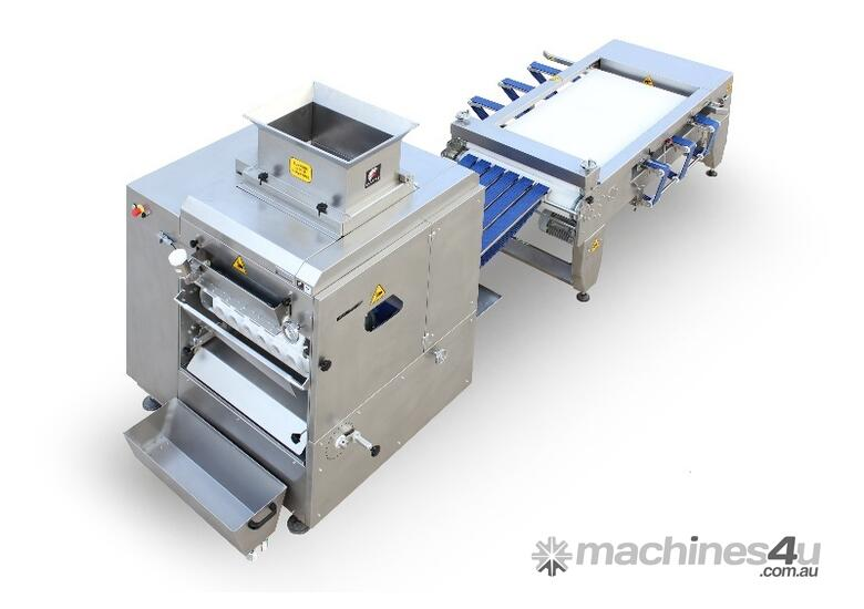 6 Rows Dough Divider and Roller Machine