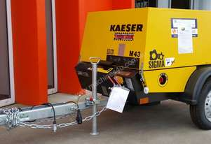 Brand New Kaeser M43 Diesel Air Compressor, 148cfm