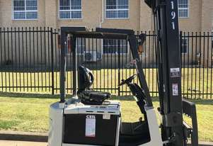 Nissan Electric Counterbalance Fork - Great Unit - 5 mtr lift height