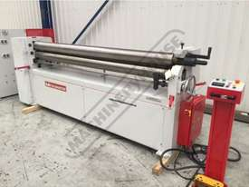 PR-252A Motorised Plate Curving Rolls 2550 x 2.5mm Mild Steel Capacity Motorised Up/Down Rear Roll,  - picture0' - Click to enlarge
