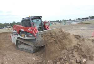 Takeuchi TL12V2 AND TL12R2 Skid Steer Loader