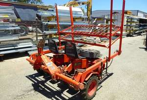 2004 Checchi & Magli Dual 12 Plus Four Row Three Point Linkage Ground Drive Seedling Transplanter