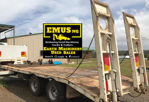 2009 Titan Tag Trailer, heavy duty. EMUS TS434