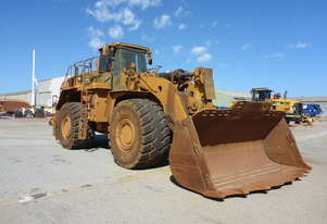 2014 Caterpillar 988K 4x4 Articulated Wheel Loader (CS186)