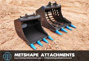 High Quality Excavator Attachments by Metshape Attachments.