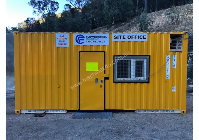 20ft Shipping Container Office- insulated
