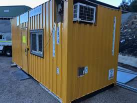 20ft Shipping Container Office- insulated - picture0' - Click to enlarge