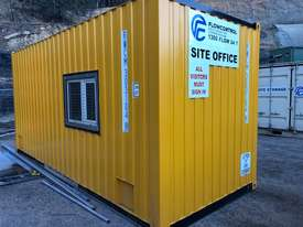 20ft Shipping Container Office- insulated - picture1' - Click to enlarge