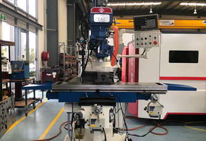 PUMA X6333 TURRET MILLING MACHINE | X TRAVEL 1000MM | DRO
