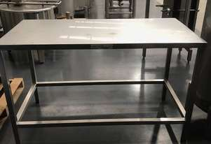 Stainless Steel Table** WE ARE OPEN DURING LOCKDOWN**