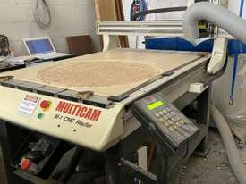 Multicam 2011 M1 1200x1000 bed sized CNC Router - Excellent condition - picture1' - Click to enlarge